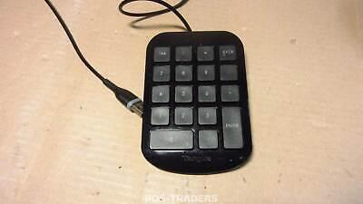 Targus AKP10EU USB Tastatur Numeric Keypad / Number Pad for PC & MAC- Black