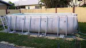 18ft x 9ft intex above ground pool Kallangur Pine Rivers Area Preview