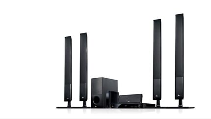 LG Home Theatre 5.1 with rear wirelesss speakers