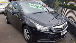 2010 Holden Cruze Sedan Liverpool Liverpool Area Preview