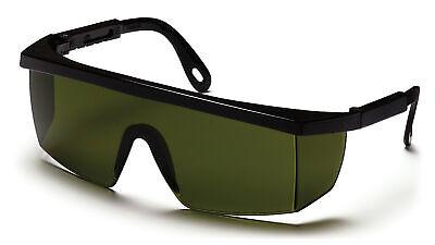 Pyramex Integra Safety Welding Glasses Ir3 Ir5 Filter Lens W Black Frame