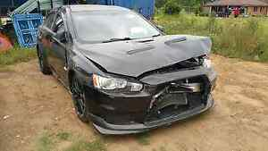 Mitsubishi Evo 10mr 2013 SST DAMAGED WRECKING ALL PARTS AVAILABLE Berkshire Park Penrith Area Preview