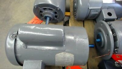 Baldor Cl3509 1 Hp Ac Motor 115208-230 Volts 3450 Rpm 2p 56c Frame