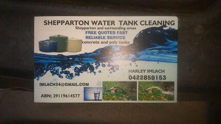water tank cleaning.. bendigo  .shepparton  northern victoria