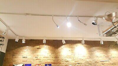 Track Lighting Kits: with PAR20/30 Gooseneck 20 Year low energy LED -
