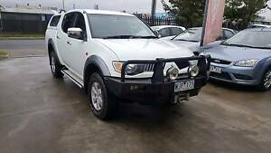 2008 Mitsubishi Triton GLX-R Ute 4X4 TURBO DIESEL LOW KMS EXTRAS Williamstown North Hobsons Bay Area Preview
