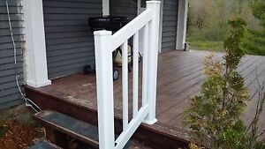 Vinyl Railing for sale