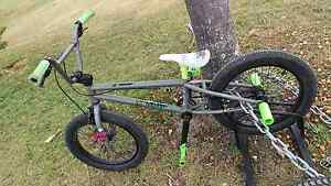 Green 2016 STLN AGENT BMX bike 18'TT we the people / colony copy Lennox Head Ballina Area Preview