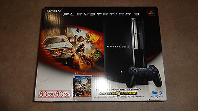 New Sony PlayStation 3 - 80 GB Solace - Motor Bombard Package - PS3 - U.S. Seller