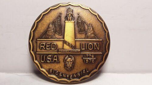 Vintage 1976 Red Lion Bicentennial Token Coin Medal