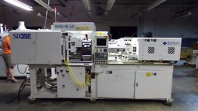 Sumitomo 35 Ton Injection Molding Machine Model Sd35e