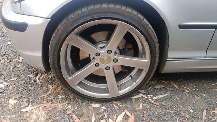Cades apollo wheels. 5x120 19x8.5 bmw holden set