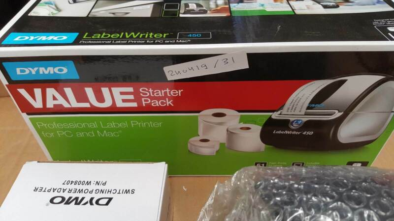 DYMO LabelWriter 450 Value Pack (240419-31)   Printers & Scanners