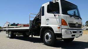 2008 Hino FG Crane Truck Maddington Gosnells Area Preview