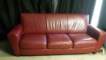 Natuzzi 3 seater leather sofa Keilor Brimbank Area Preview