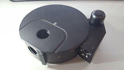 Olympus Ix2-rfaca Motorized Filter Turret W 2 Empty Filter Cubes U-mf2