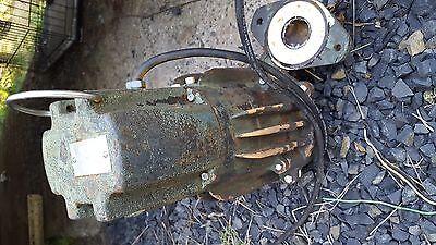 Zoeller Septicsump Pump 230v Model E163-d Pt 163-0004