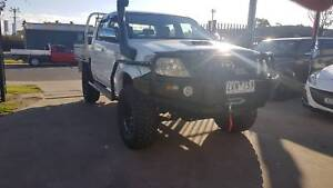 """2007 Toyota Hilux Duel Cab Tray Ute 4X4 TURBO DIESEL """"EXTRAS"""" Williamstown North Hobsons Bay Area Preview"""