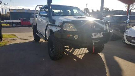 "2007 Toyota Hilux Duel Cab Tray Ute 4X4 TURBO DIESEL ""EXTRAS"" Williamstown North Hobsons Bay Area Preview"