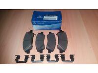 Genuine Hyundai Front Brake Pads ix20 2011-2015 581011KA00