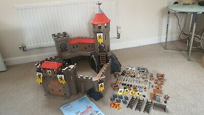 Playmobil 4865 Lion Knights Castle 99% Complete Boxed with Instructions