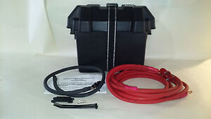 UNIVERSAL TRUNK MOUNT BATTERY RELOCATION KIT 2 GAUGE MADE IN THE USA.NEW