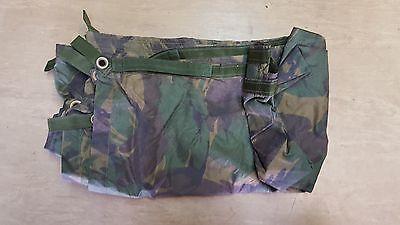 Genuine British Army Issue Woodland DPM Camo Shelter Basha Sheet Tarp