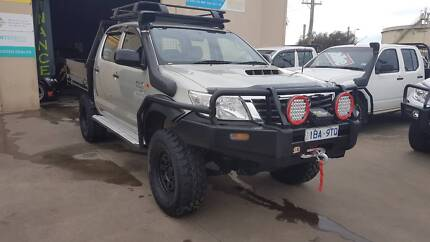 2013 Toyota Hilux Duel Cab Tray Ute 4X4 TD LOW KMS LOTS OF EXTRAS Williamstown North Hobsons Bay Area Preview