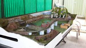 model train set up Lake Haven Wyong Area Preview