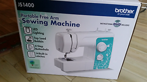 Sewing machine never used (Brother JS 1400) Footscray Maribyrnong Area Preview