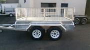 8x5 box trailers galvanized  Auburn Auburn Area Preview