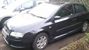 2006 FIAT STILO ACTIVE AIRCON 16V BLACK CAT C