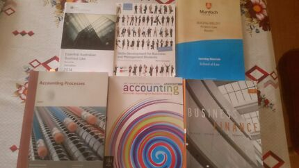 Business university books; first/second year Booragoon Melville Area Preview