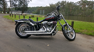 2009 harley davidson softail fxst Picnic Point Bankstown Area Preview