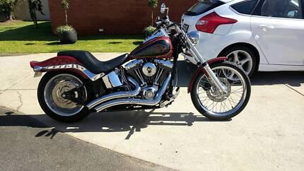 Harley Davidson Softail Custom stage 4 120rwhp