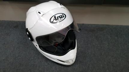 ARAI VX-PRO 3 WHITE HELMET