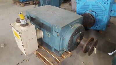 450 Hp General Electric Ac Electric Motor 1200 Rpm Fr 5011ll Dpbb 2300 V Eok