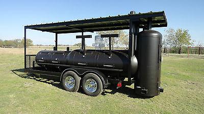 Concession Trailer Smoker | Lincoln Equipment Liquidation