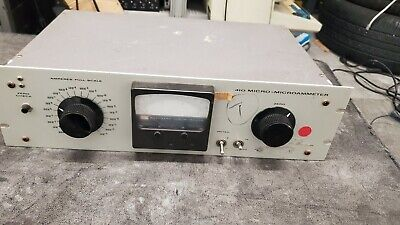 Keithley Instruments Model 410 Full Scale Micro-microammeter Tested And Working