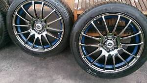 "18"" Drifting Rims and Tyres 235/40R18 Dandenong South Greater Dandenong Preview"