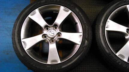 Mazda 3 Alloy Wheel Type and Rim Fairfield Fairfield Area Preview