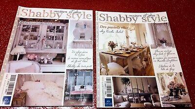 °°° SHABBY STYLE maison et déco n°2 et 5 pastels chic + éclosion de roses °°°