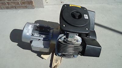 Atlas Copco Lf3-10s Lf3-10 3hp Oil Free Aluminum Piston Compressor Pump W Motor.