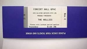 2 x The Hollies concert tickets Bris Tue 14th Feb 17 plus 1 Qpac Brighton Brisbane North East Preview