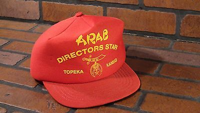 Arabischer Directors Staff Topeka Kansas Truckerhut Erwachsene Kappe