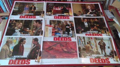 Adam SANDLER Winona RYDER 8 French Lobby Cards ADVENTURES OF Mr DEEDS