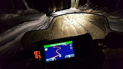 Garmin GPS With 2017 ATV And Snowmobile Maps Installed Mount Included
