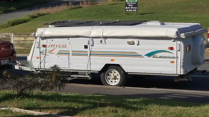 2004 JAYCO FLAMINGO THE COMPLETE PACKAGE TO GO.... Tweed Heads South Tweed Heads Area Preview