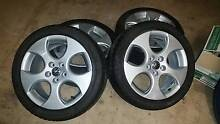 VW POLO GTI 16 INCH WHEELS AND TYRES FIT GOLF MK4 BORA BETTLE Liverpool Liverpool Area Preview