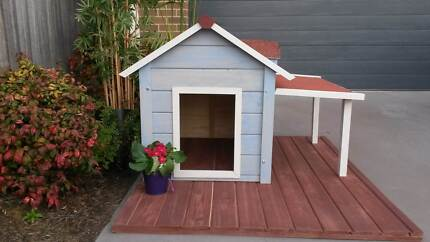 Dog Kennel, cottage style, handpainted, small Gungahlin Gungahlin Area Preview